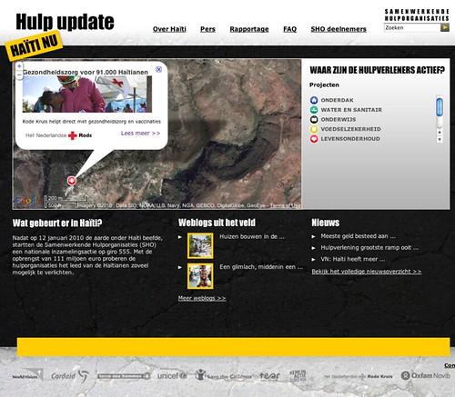 Haïti nu — Hulp update