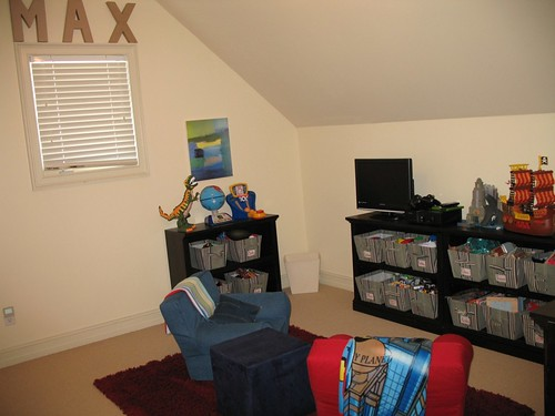 5th Bedroom being used as playroom