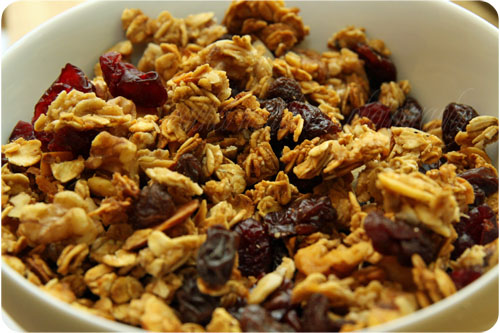homemade granola 2