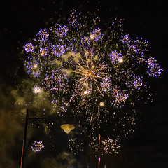Fireworks! (Ian@NZFlickr) Tags: winter nz otago dunedin aotearoa feastival octago