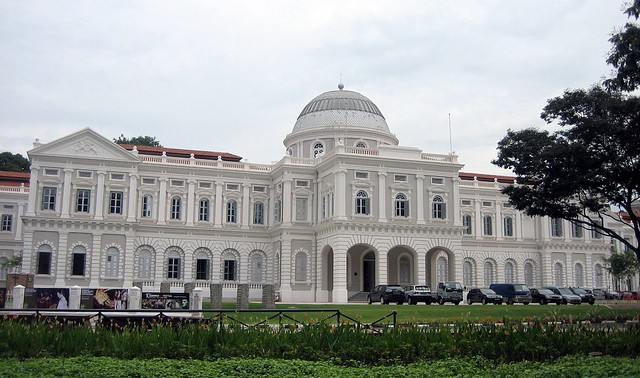 Beautifully Restored National Museum of Singapore, Singapore