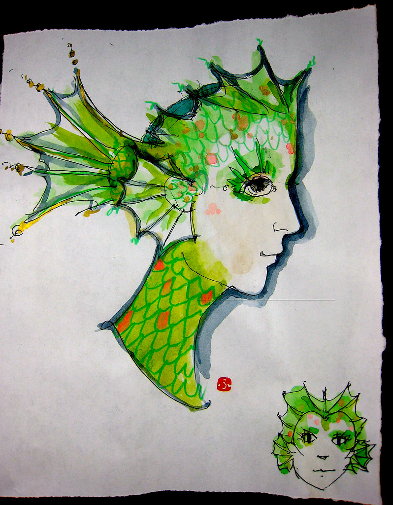 The World 39 s Best Photos of headdress and watercolor