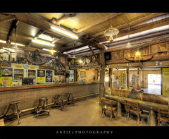 Bark Hut Inn, Arnhem Highway, Northern Territory :: HDR (Artie | Photography :: I'm a lazy boy :)) Tags: photoshop canon wooden buffalo pub nt tripod australia wideangle darwin outback aussie 1020mm farnorth hdr northernterritory artie backpackers cs3 3xp sigmalens photomatix arnhemhighway tonemapping tonemap 400d rebelxti barkhutinn
