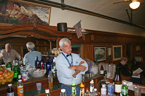 Private Rail Car - Pony Express, the Antique Bar