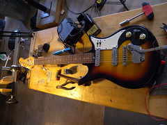 Teisco Del Ray (guitar-tech) Tags: del ray guitar repair teisco