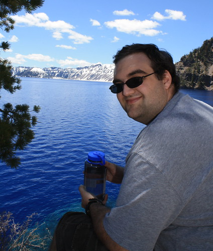 Ian at Crater Lake