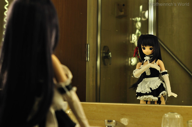 Volks Dollfie Dream ドルフィー DD娃娃 Kiriha Kuze 紅瀬桐葉 in Los Angeles Marriott Downtown