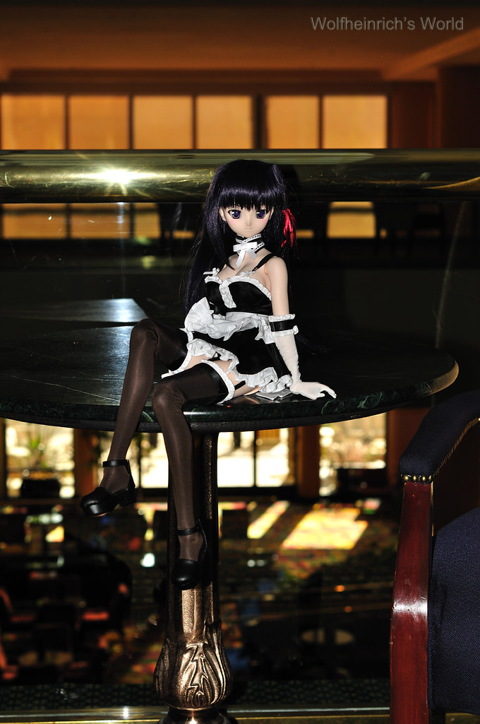 Volks Dollfie Dream ドルフィー DD娃娃 Kiriha Kuze 紅瀬桐葉 in Marriott Downtown at Los Angeles
