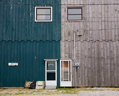 Good Neighbours (peterkelly) Tags: door ontario canada building window digital harbor wooden harbour canadian northamerica boathouse portrowan