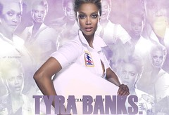 Tyra *-* for The definition of fierce. (Jose ferreira .) Tags: blend tyrabanks specialdelivery photofiltre
