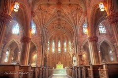 The Cathedral Of The Immaculate Conception, Albany, New York (Ronaldo F Cabuhat) Tags: travel light vacation building art church colors beautiful beauty architecture photography design etching scenery exposure floor cathedral chairs interior patterns gothic arts creative picture visit scene structure symmetry ceiling altar aisle rows balance pillars dimension albanyny stonewalls pews pulpit hdr albanynewyork llens canon24105mmf4lisusm highdynamicrangeimaging 19thcenturychurch thecathedraloftheimmaculateconception canoneos5dmarkii cabuhat albanysdiocesanmotherchurch