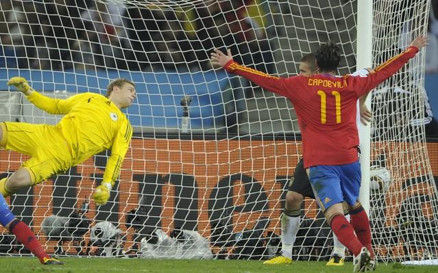 España Alemania Semifinal Mundial gol