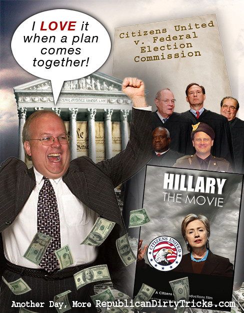 Karl Rove Citizens United Image