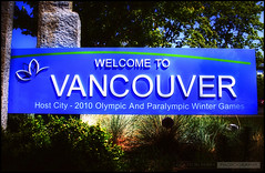 Welcome To Vancouver (Clayton Perry Photoworks) Tags: street canada sign vancouver oak downtown bc welcome hdr welcometovancouver