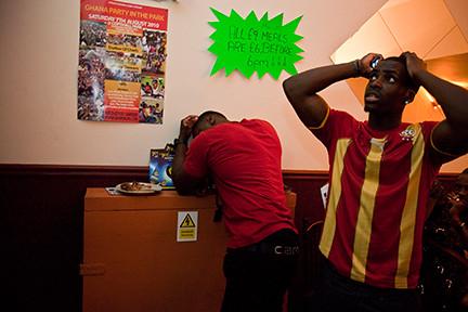 Ghanaian Restaurant North London