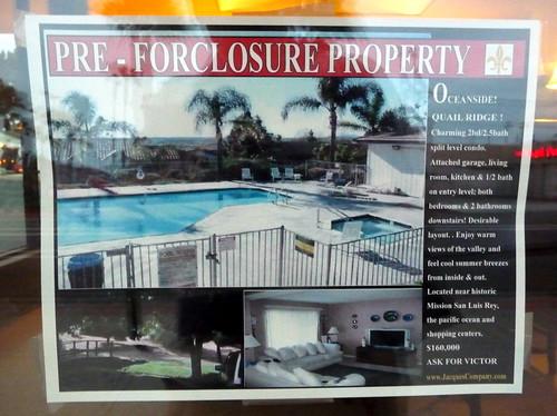pre foreclosures?