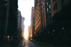 (grace tuttle) Tags: city nyc newyorkcity windows light summer sun film evening soleil skyscrapers manhattan fujifilm soir ville disposable seep gracetuttle