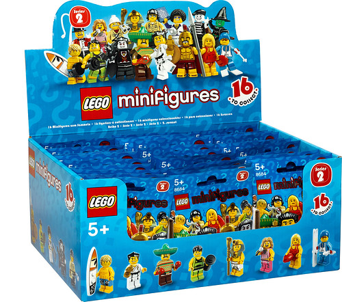 8684 lego collectable minifigures
