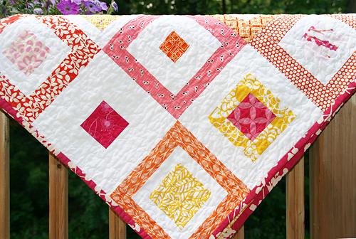 Lemon Squares Quilt Pattern ~ Fresh Lemons Modern Quilts : quilted squares - Adamdwight.com