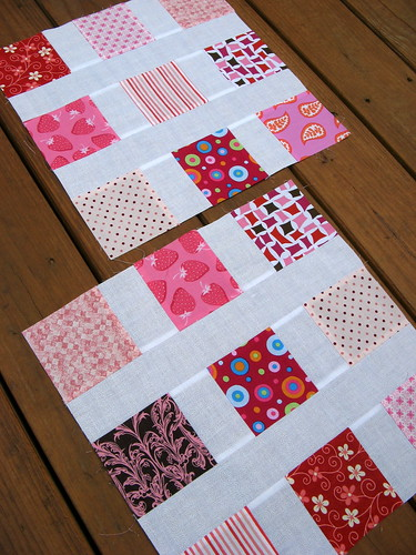 Pretty in Pink - July Blocks