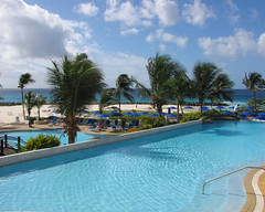 A Breeze in Barbados (Colorado Sands) Tags: ocean pool island hotel islands hilton resort swimmingpool tropical barbados caribbean hotels accommodation bridgetown resorts beachfront hoteles hiltonhotel htels needhamspoint lesserantilles sandraleidholdt barbade hiltonbarbados leidholdt sandyleidholdt