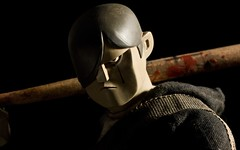Tommy Mission with custom bat (dangercorpse) Tags: tommy 3a 16 ashleywood threea 3atoys adventurekartel tommymission