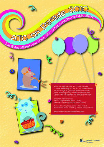 ATC on Parade 2010 poster