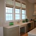 Roman Shades in the Kitchen