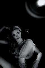 She Likes To Watch (TJ Scott) Tags: portrait hollywood cinematic screeningroom tjscott jenniferbaxter