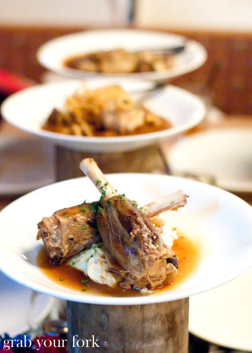 lowenbrau lamb shanks