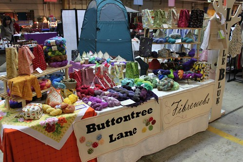 Buttontree Lane and Fibrewebs stall