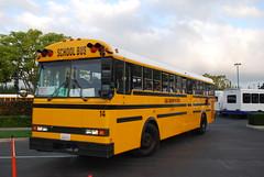 Global 14 (crown426) Tags: california coach disneyland schoolbus anaheim carpenter gradnite