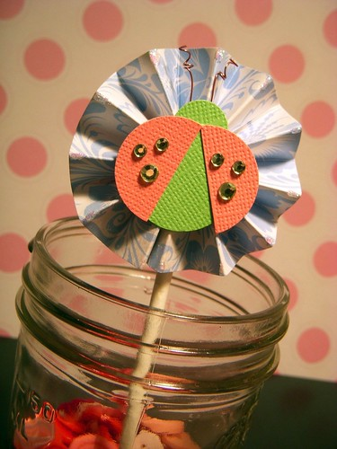 Ladybug Cupcake Topper 3