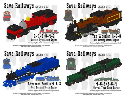 Sava Railways Instructions Collection #2