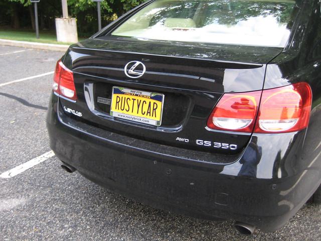 RustyCar Plates
