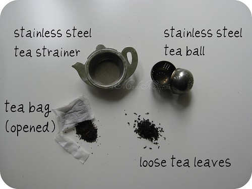 tea teabag loose tea strainers tea ball