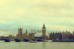Cloudy London.. (- M7D . S h R a T y) Tags: uk sky london unitedkingdom londoneye bigben wordsbyme allrightsreserved