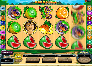 Big Kahuna Snakes and Ladders slot game online review