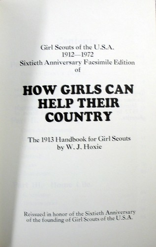 How Girls Can Help Their Country [facsimile] title page