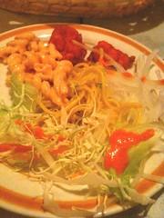 モティマハール、バイキングサラダ