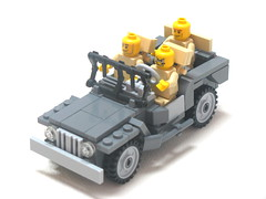 Willy's Jeep. (Erik C.) Tags: during design lego jeep bricks used ww2 practically widely a phimas