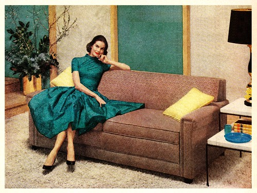 Vintage Ads Simmons Hide A Bed Sofas 1955