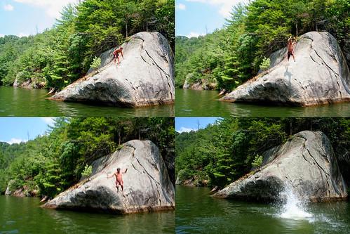 jump! splash!