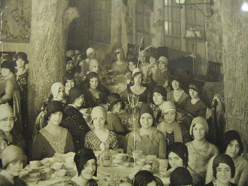 Flickr photo via Tom Faracy of Brooklyn: A portion of a photo of a communion breakfast my Mom attended on May 4th,1930.  At the Hotel St. George,Brooklyn Heights,NYC