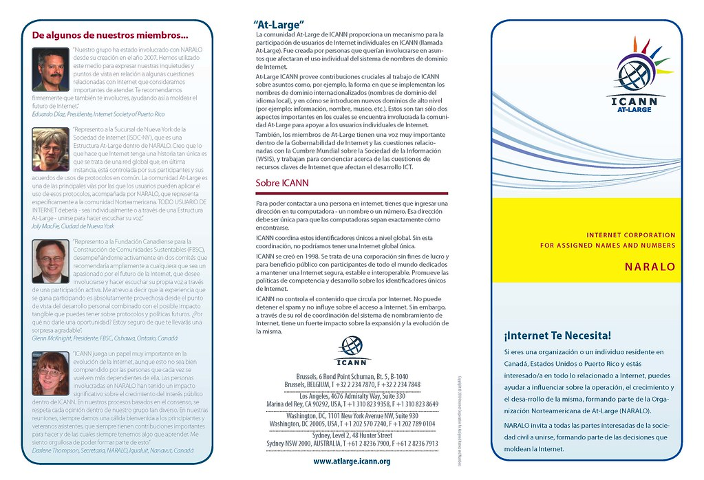 Tri-fold NARALO Brochure 2010 - 1