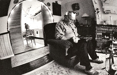 UK 54 (jjay69) Tags: uk unitedkingdom britain greatbritain england xmas family party celebration happy joy christmas wales partyhat parents father iso1600 livingroom present study familyhome lpindoors familyuk noise bw blackandwhite retro home classic film 35mm dad