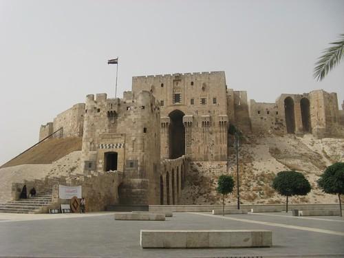 Citadela de Aleppo, Síria