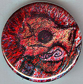"terrible2z.com - ""RETROMUTA : BP Skull ""  Button  (( 2010 ))"