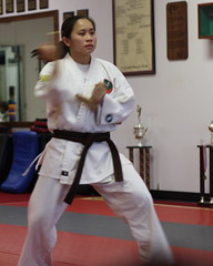 promotion graduation martialarts karate kata dojo peoria aok shuriryu academyofokinawankarate joseniagerdes