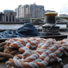(jili'm) Tags: london thames rope squared
